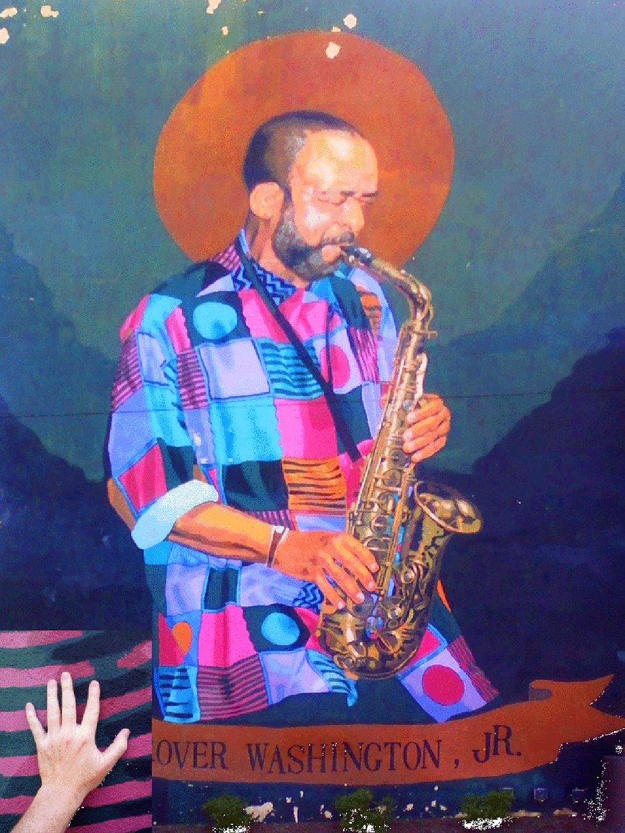RT @SilkDharmaArt: Giant mural across from Temple University. Grover Washington, Jr. Title: Seven eleven saxophone https://t.co/hoPSooZRof