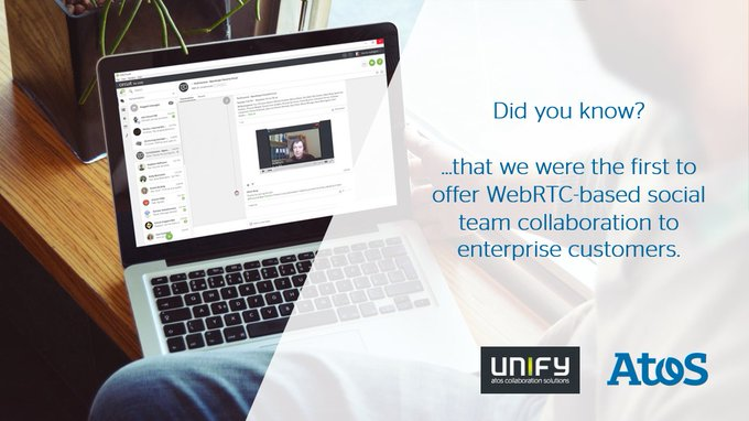 Did you know that we were the first to offer WebRTC-based social #TeamCollaboration to...
