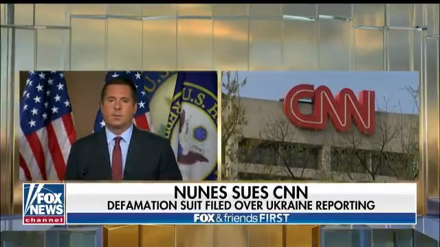 .@DevinNunes Sues CNN For More Than $435 Million Over Ukraine-Biden Report #FakeNews needs to stop 🛑 Hitting media in their pocketbooks with a successfull lawsuit will set a precedent MSM & journalists should be held accountable for their actions