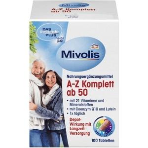 DAS gesunde PLUS A-Z Komplett ab 50 Tabletten, 100 St Vitaminen