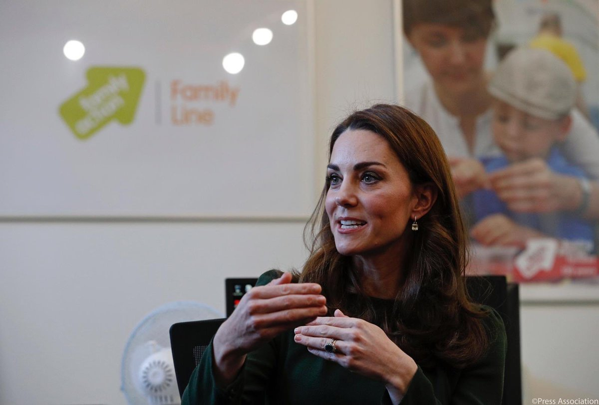 Today The Duchess of Cambridge has become Royal Patron of @family_action. More ➡️ bit.ly/2Ln0NJO