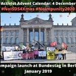 Image for the Tweet beginning: #NoISDS4Xmas calendar 4 Dec: The