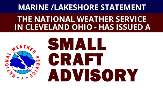 SMALL CRAFT ADVISORY REMAINS IN EFFECT FROM 9 AM THIS MORNING TO 3 AM EST THURSDAY... * WHERE…Lake Erie nearshore waters from Maumee Bay to Reno Beach OH and Lake Erie nearshore waters from Reno Beach to The  Islands... h ... <br>http://pic.twitter.com/Gj4rRjJl0A