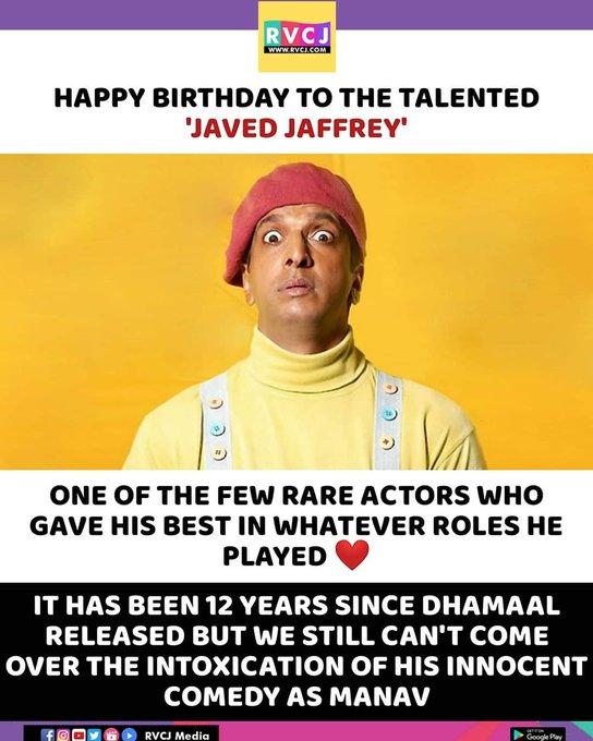 Happy Birthday Javed Jaffrey!