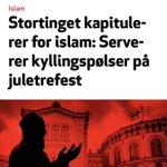 Image for the Tweet beginning: Faktasjekk: Stortinget har ikke kapitulert