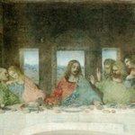 Image for the Tweet beginning: #シャーロック 9話 獅子雄が #最後の晩餐 と言ったのが気になる。ユダは途中で場を退き、イエスを逮捕するため #ゲッセマネの園