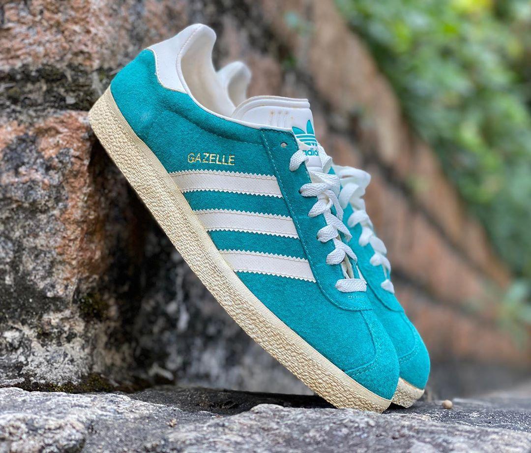 Adidas Gazelle Vintage Blue · Fresh sneakers and vintage