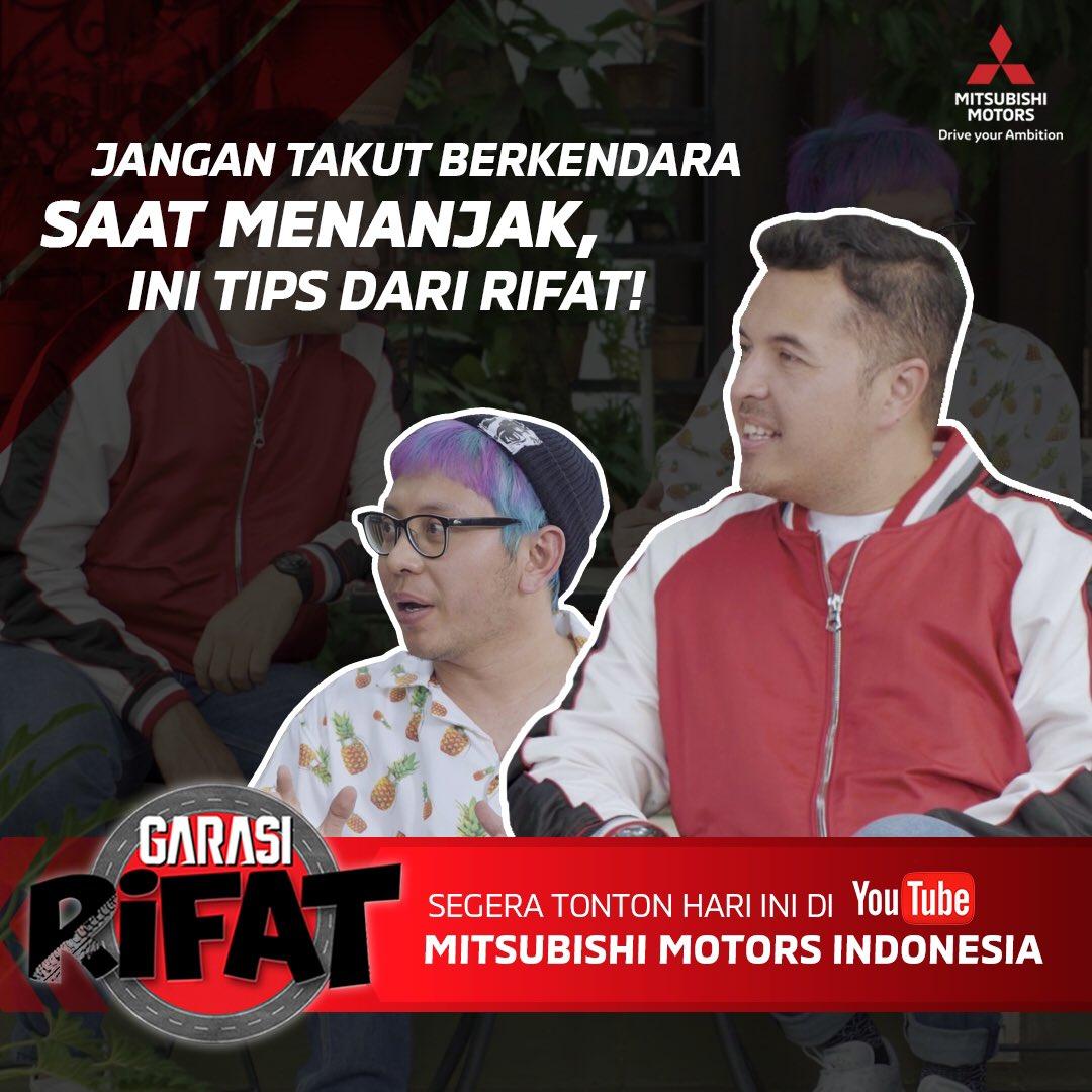 Mitsubishi Family sudah nonton episode 3 Garasi Rifat belum? Ada si tetangga kekinian yang mau liburan ke Puncak, tapi dia bingung soal berkendara di jalan menanjak! Ayo tonton langsung di channel YouTube Mitsubishi Motors Indonesia.