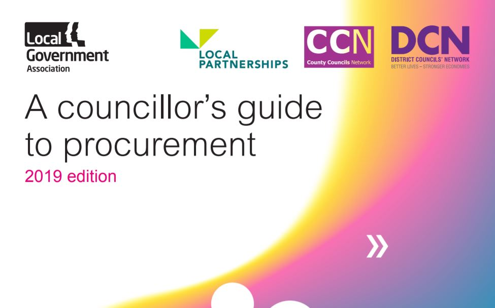 """A councillor's guide to procurement: 2019 edition"" is now live.  View here: https://t.co/lS510Kbhv4  @LGAcomms   @CCNOffice   @districtcouncil  #LocalGov #Procurement"