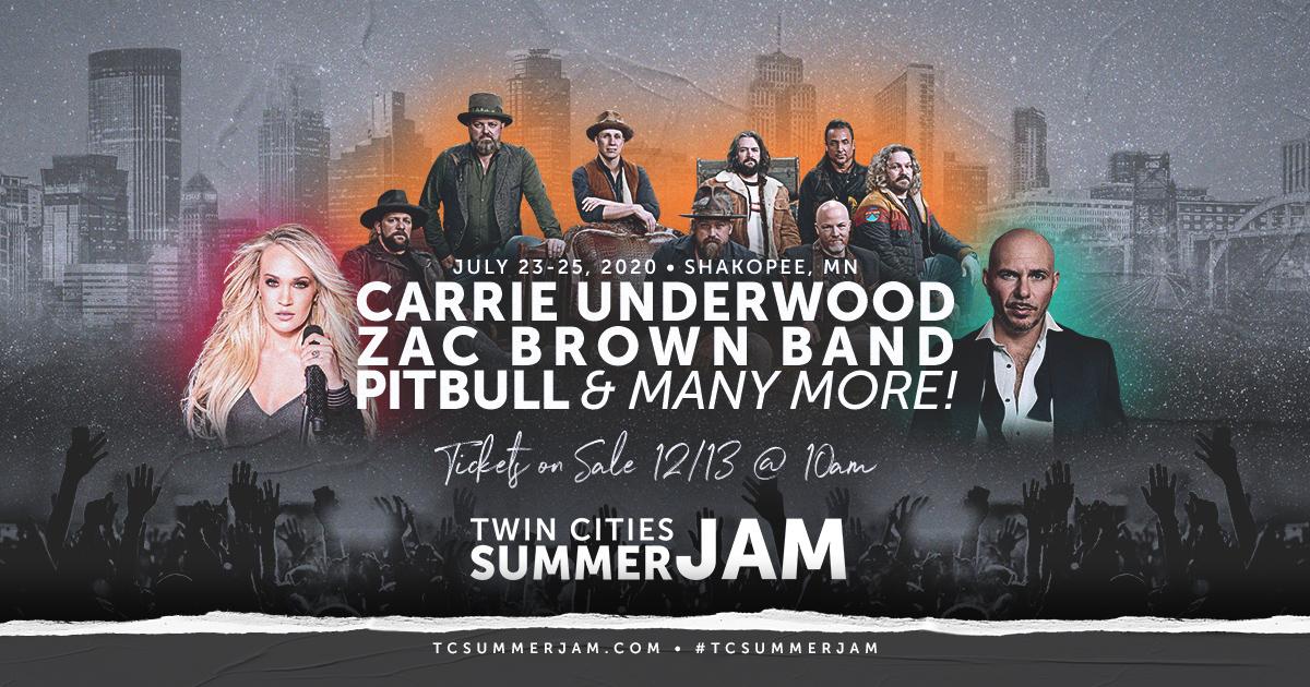 When Is Summer Jam 2020.Twin Cities Summer Jam Tcsummerjam Twitter