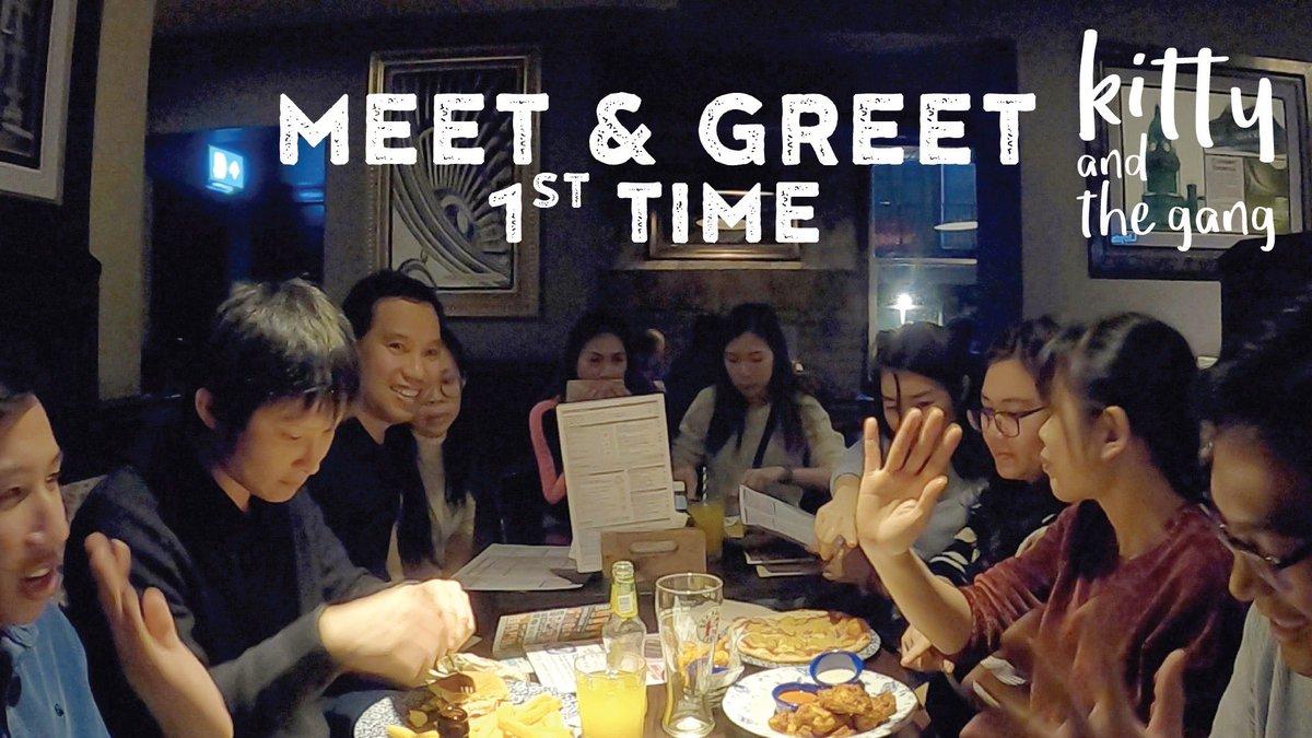 Meet and Greet 1st Time https://t.co/rzdhiSWlLy บรรยากาศงานเลี้ยงพบปะกันพูดคุยกันได้แบบสบายๆ ในผับ Wetherspoons ตรงข้าม Morrison กับพี่ๆ น้องๆ นักศึกษา University of Leeds และงานพบปะกับพวกเราชาว รวมถึงงานเลี้ยงส่งพี่มิ๊กกลับไทยไป #kittyandthegang #leeds https://t.co/x7V6nIKIhT