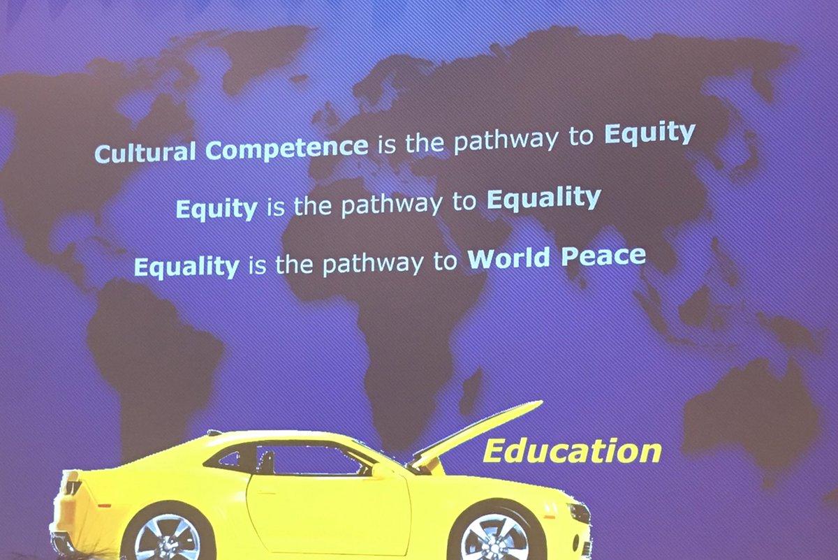 Couldn't agree more @RaviUnites! Education is the driver to a better world. #VASCD19 #educatorschangetheworld