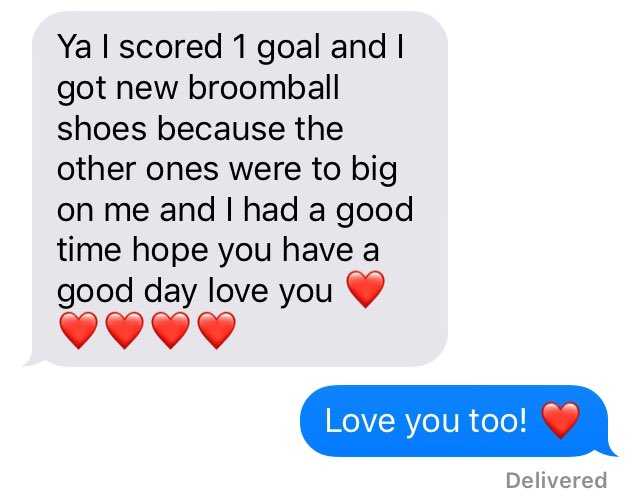 My youngest son always sends me texts in the morning when I'm away with work. Today, I look forward to the great lineup of speakers at #GrowCanada19. And I loved my son's text to start my day!  #blessedlife <br>http://pic.twitter.com/mZMIsGOiEb