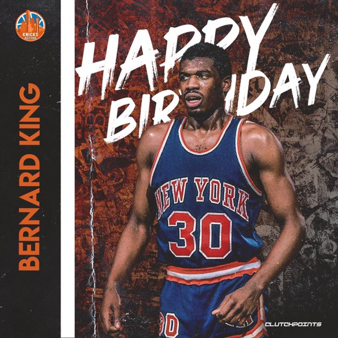 Join Nation in wishing former 4x All-Star, Bernard King, a happy 63rd birthday!