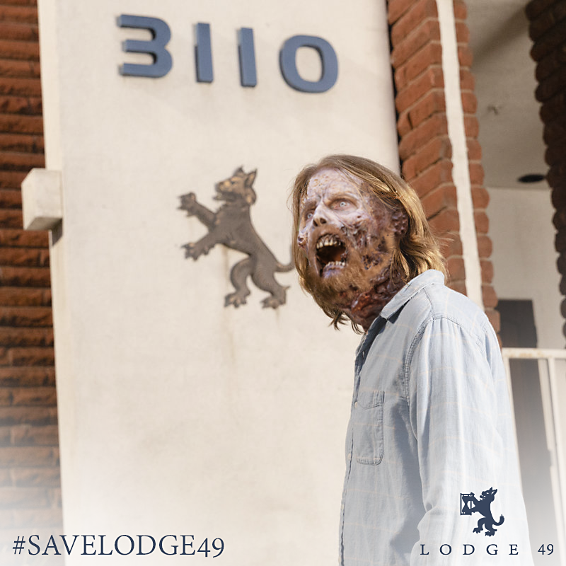 I'd encourage everyone to haunt the Wallking Dead / AMC posts with this. #Lodge49 #SaveLodge49 #JoinLodge49