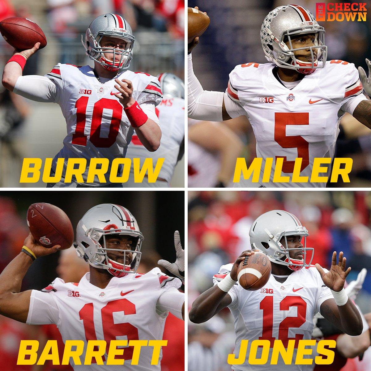 Ohio State's QB room in 2015 was STACKED  @OhioStateFB<br>http://pic.twitter.com/EotVSZodBj