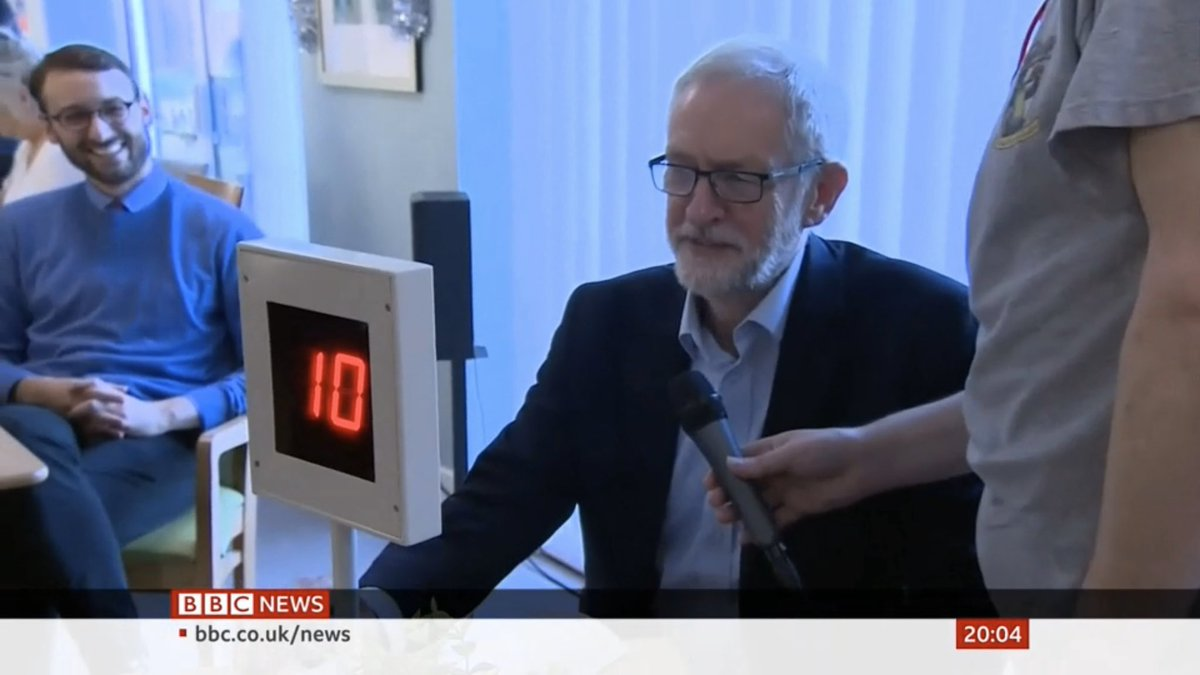 Hopefully bingo is the closest Corbyn gets to Number 10