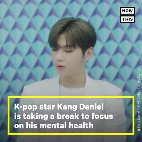 K-pop star Kang Daniel is taking a break to focus on his mental health — and fans are rallying behind him with #WeAreWithDaniel
