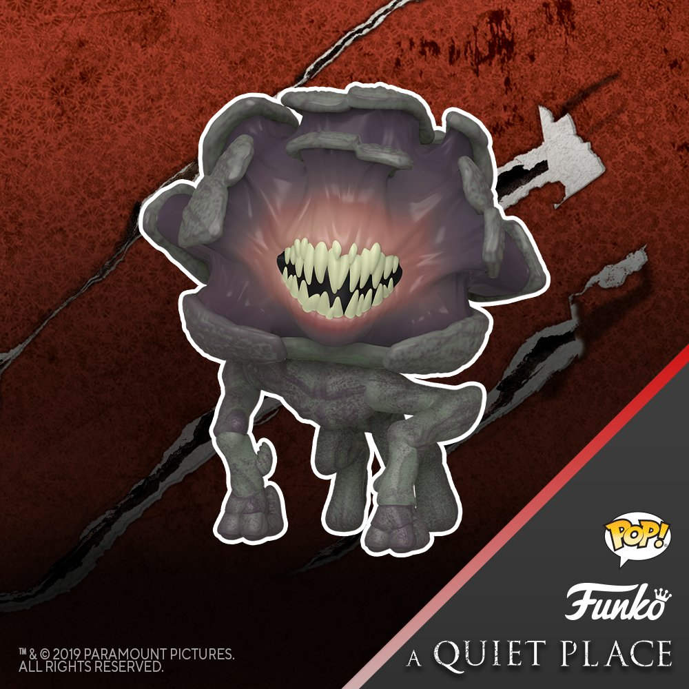 Coming Soon: Pop! Movies—A Quiet Place! funko.com/blog/article/c… @quietplacemovie @ParamountPics #QuietPlace #Paramount #Funko #Pop #FunkoPop