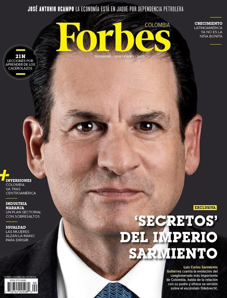 Forbes estrena su primera edición colombiana