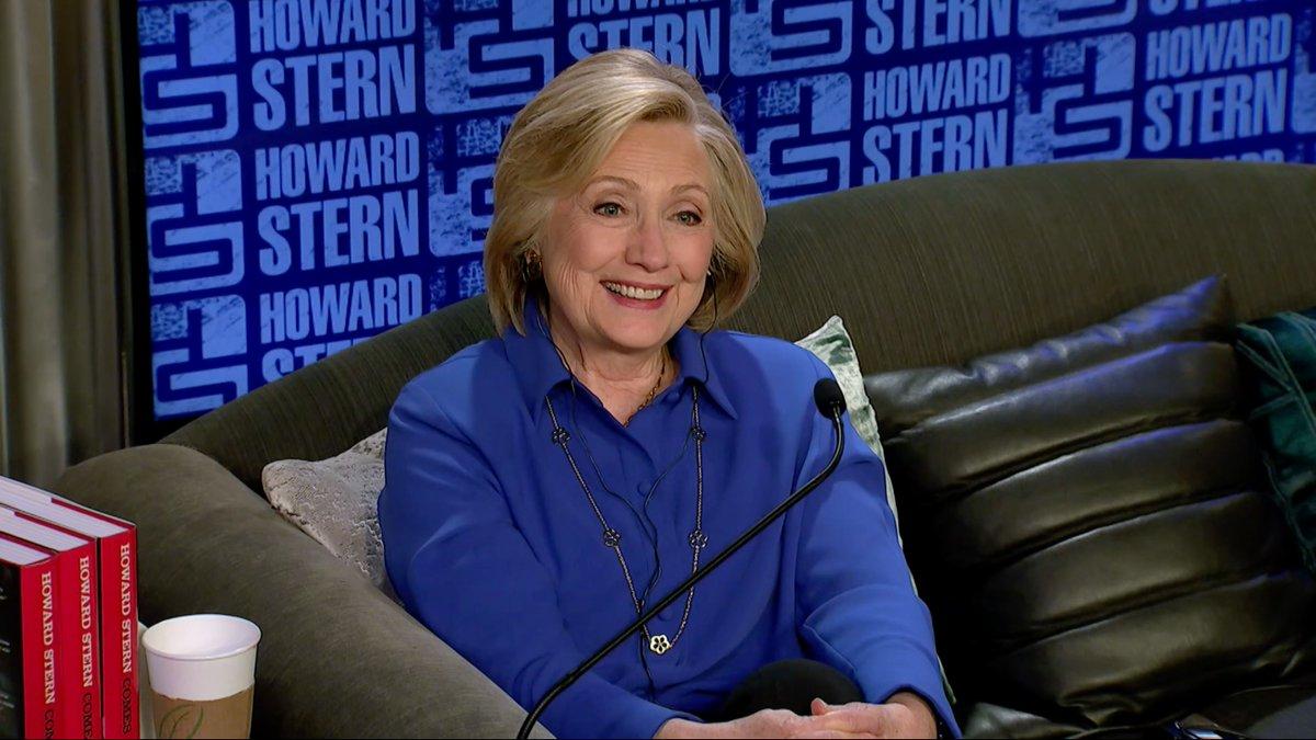 Don't tell Elizabeth Warren Stans:  Howard Stern: Are you friendly with Elizabeth Warren at all?  Hillary Clinton: Sure, Yeah.   Howard Stern: You like her?   HIllary Clinton: Yeah, sure. 🥴 #ShesMyPresident #StillWithHer