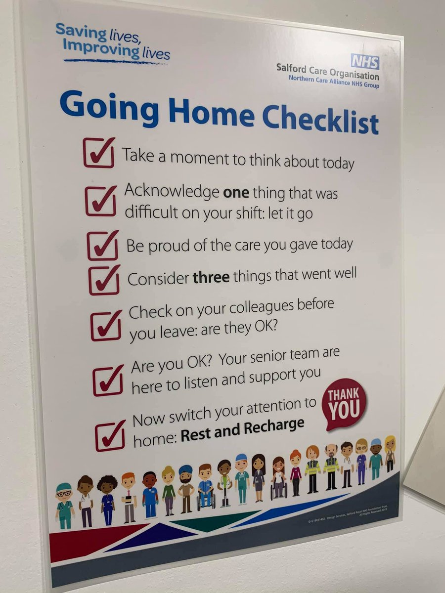 Love this. Particularly check on your colleagues it's so easy to get behind and it can be lonely when you do #teamwork #GPN #wenurses