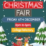 Pop in and see us for our Christmas Fair this Friday from 4pm to 6pm. With a bumper number of craft stall holders there is sure to be something for everyone. See you there! #festivefeeling #christmasfair #Dover #Kent