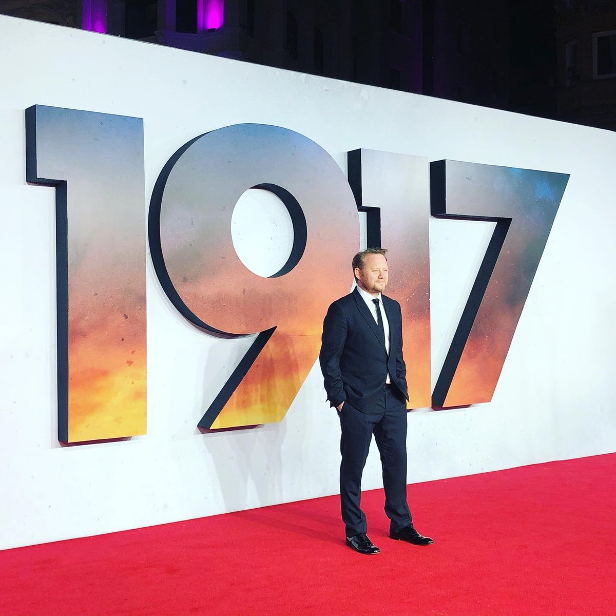 Popped along to the @1917FilmUK @1917 Royal Gala. Saw some mates and walked the #RedCarpet. This film is incredible!