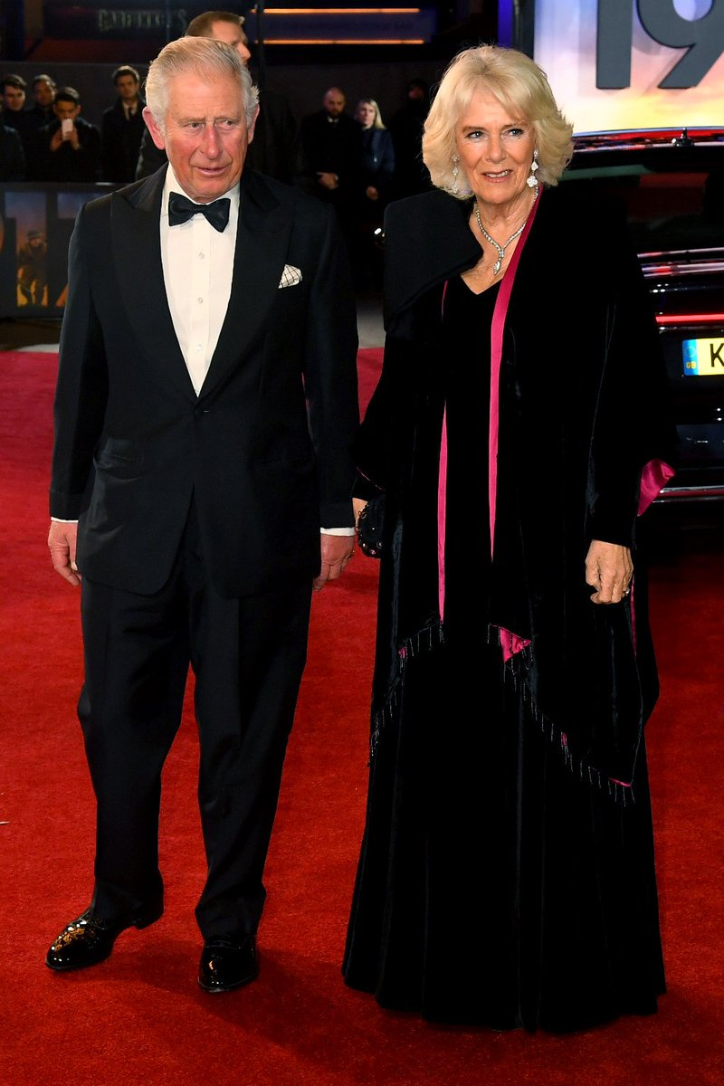 Their Royal Highnesses The Prince of Wales and The Duchess of Cornwall join us at the World Premiere and Royal Film Performance of #1917Film.