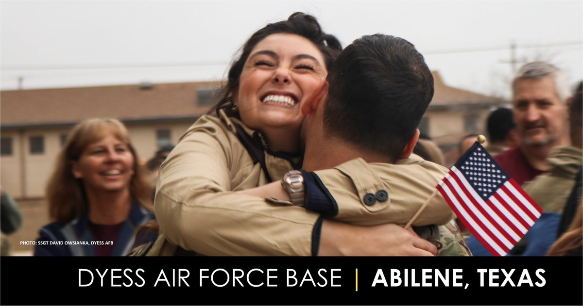 Congratulations to @CityOfAbilene, again recognized among the best in the nation for the community's support of Dyess Air Force Base, the men and women who serve, and their families. #txlegehttps://bit.ly/34P4OyD