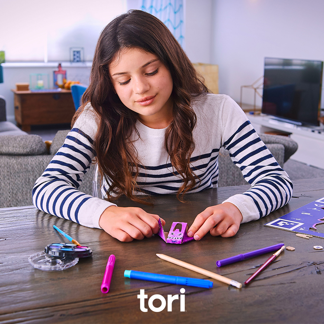 Our special @toricrafty creative kit lets you craft your own custom tori Spacecraft and import it into your game! Learn more on http://tori.com  #toriworld