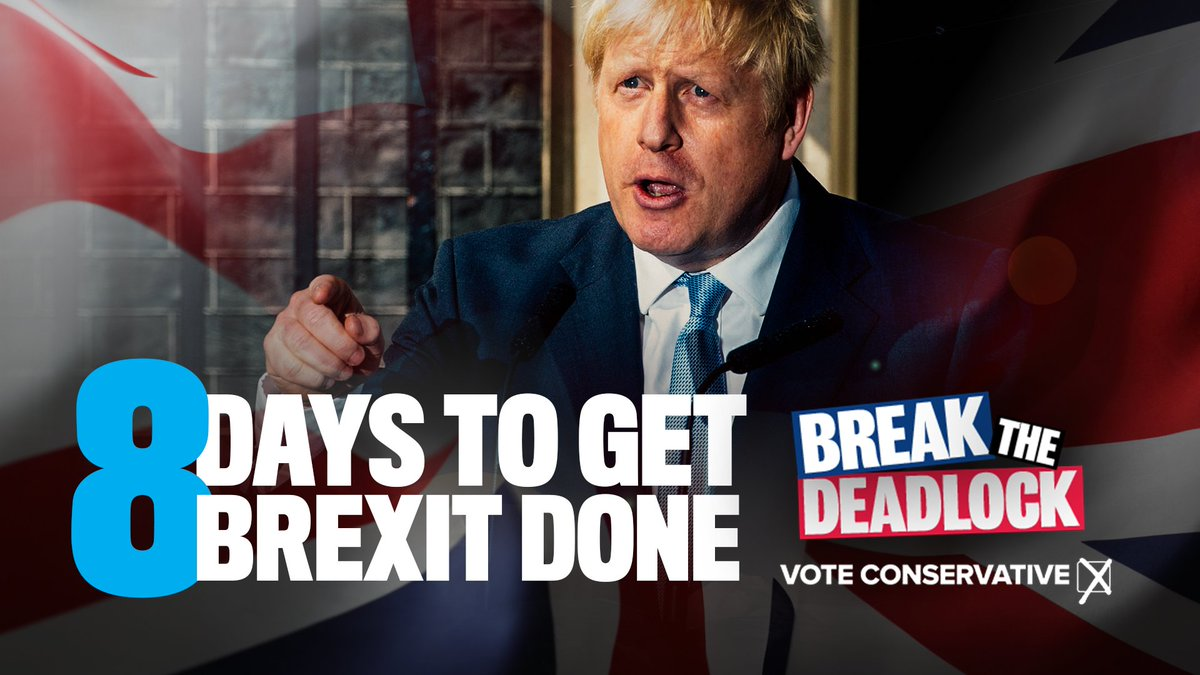 8 days to get Brexit done.