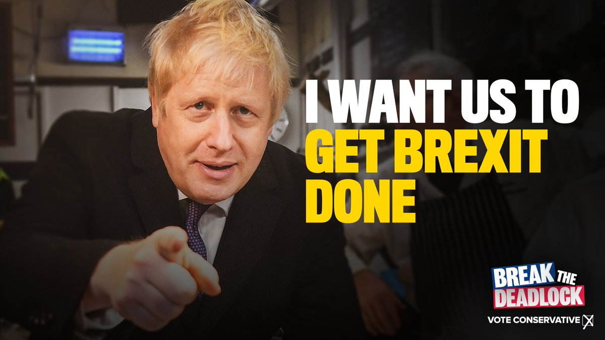 We've got 8 days to get Brexit done and unleash Britain's potential.