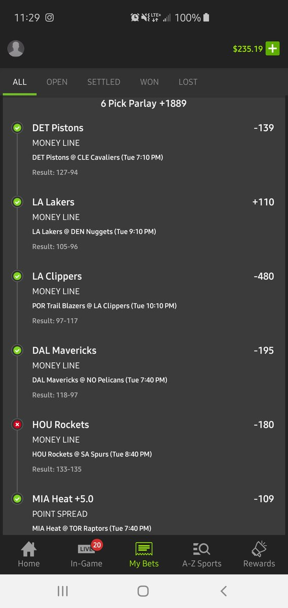 "When the @JHarden13 ""missed"" dunk makes me potentially miss out on a $99 payout.... #NBA #DraftKingsSportsbook #Rockets #Spurs #BadBeats #SuperBadBeats #superbadbeatsmonday on Wednesday @BarstoolBigCat @PFTCommenter @CashApp @DKSportsbook"