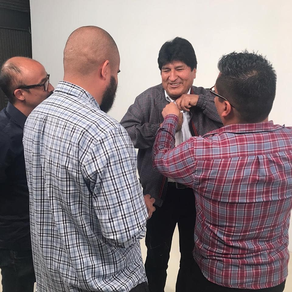 """""""In Latin America, neoliberalism needs coups to be able to subjugate its people, plunder its resources and privatise its public services.""""  Ousted and exiled Bolivian president Evo Morales (@evoespueblo) spoke with redfish.  Stay tuned for the full interview coming out soon! <br>http://pic.twitter.com/jNHVwrdaXe"""