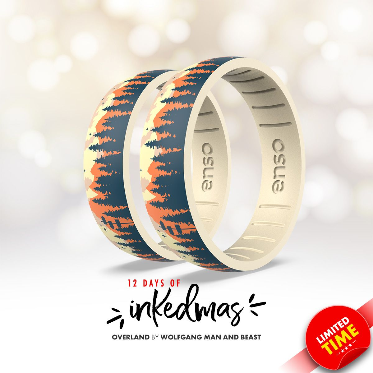 On the fourth day of #INKEDmas Enso Rings gave to me ... an Overland ring by @wolfgangmanandbeast.  https://t.co/2Ph90Frrf1 https://t.co/5ijvYHyz1i