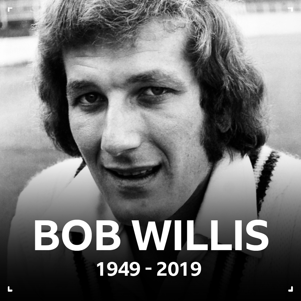 Former England captain Bob Willis has died at the age of 70The @EnglandCricket great took 325 wickets in 90 Tests from 1971 to 1984Read more 🏏http://bbc.in/383IbIA