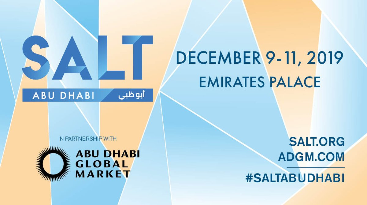 Did you miss your opportunity to attend #SALTAbuDhabi? Follow us to view the live stream of the event right from @EmiratesPlace. Watch as the foremost global leaders in #business, #politics and #tech discuss the most critical issues of today and tomorrow.