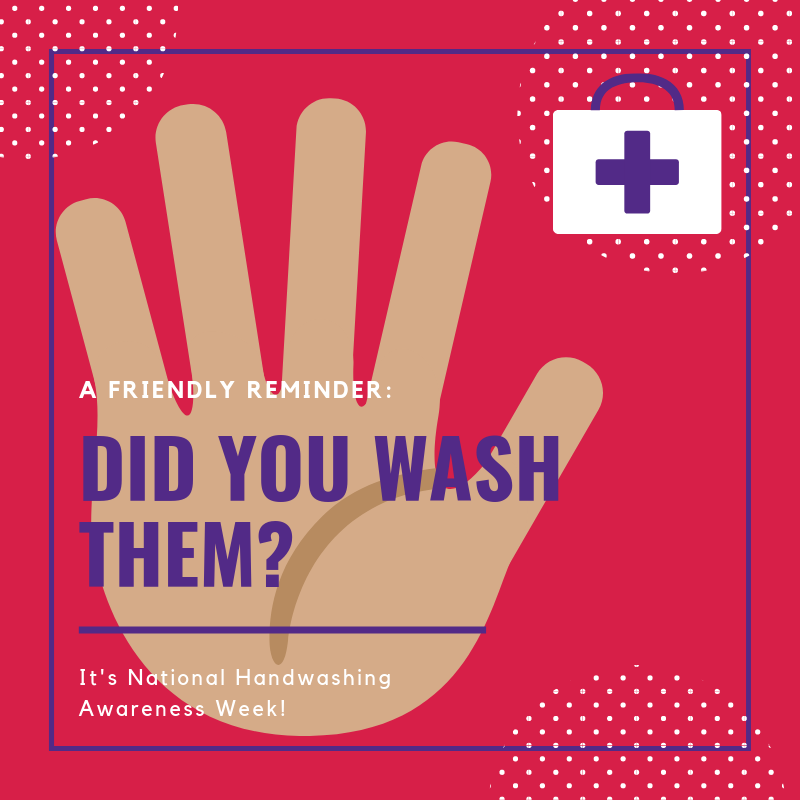 One simple way everyone can promote a #healthy lifestyle is to wash your hands!  Join @carevantexas in celebrating #NationalHandwashingWeek!
