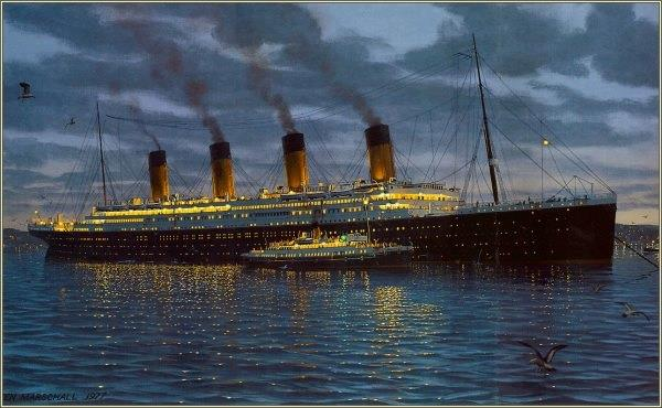 While @SSNomadic was designed to carry up to 1000 passengers, she would only carry 172 first and second-class passengers to Titanic at Cherbourg. Despite being dwarfed by the great liners she would service, she was still over 233 feet (71m) long with a tonnage of 1273 tonnes!