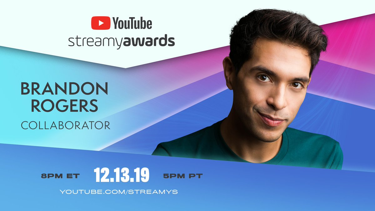 Your faves are gracing the #Streamys stage on 12/13. You won't want to miss it! 🙌
