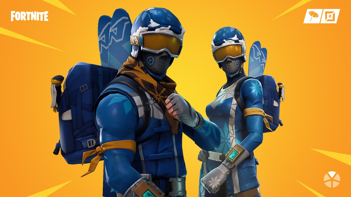 The mountains are calling ⛷️ The Alpine Ace and Mogul Master Outfits are available in the Item Shop now!