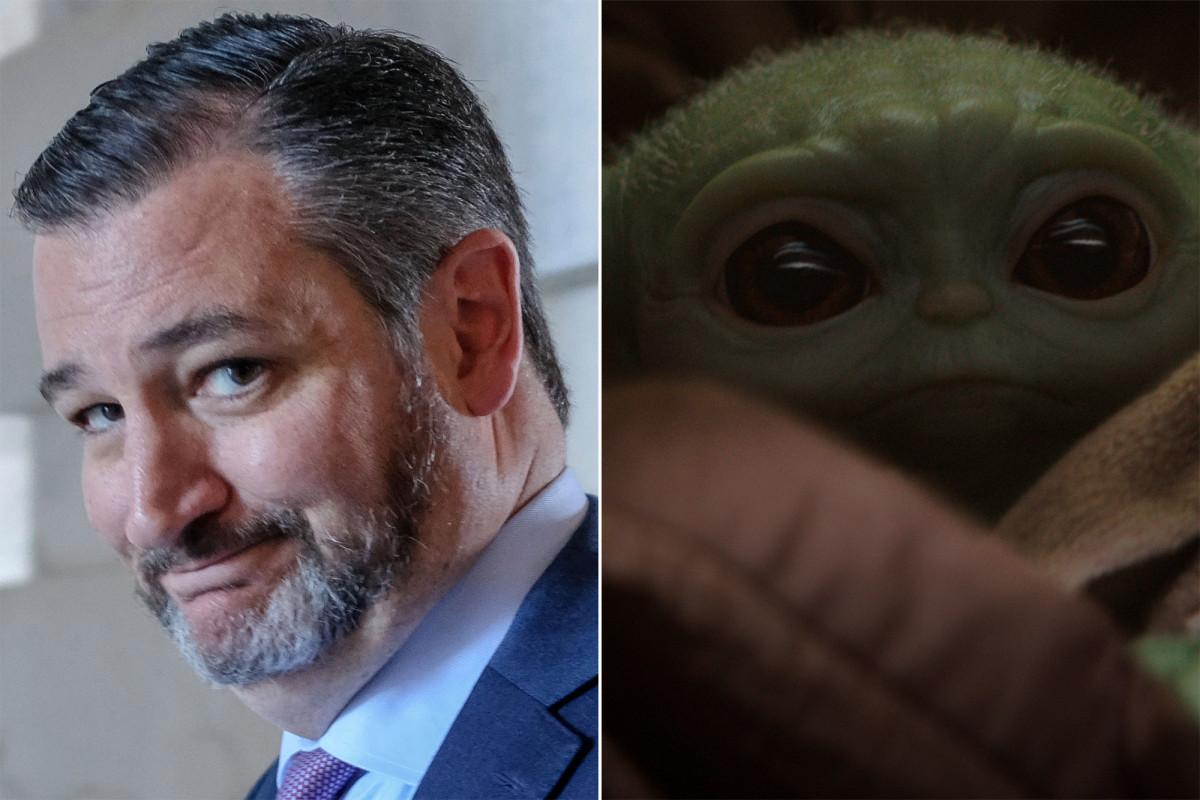 Ted Cruz has killed the Baby Yoda meme - Top Tweets Photo