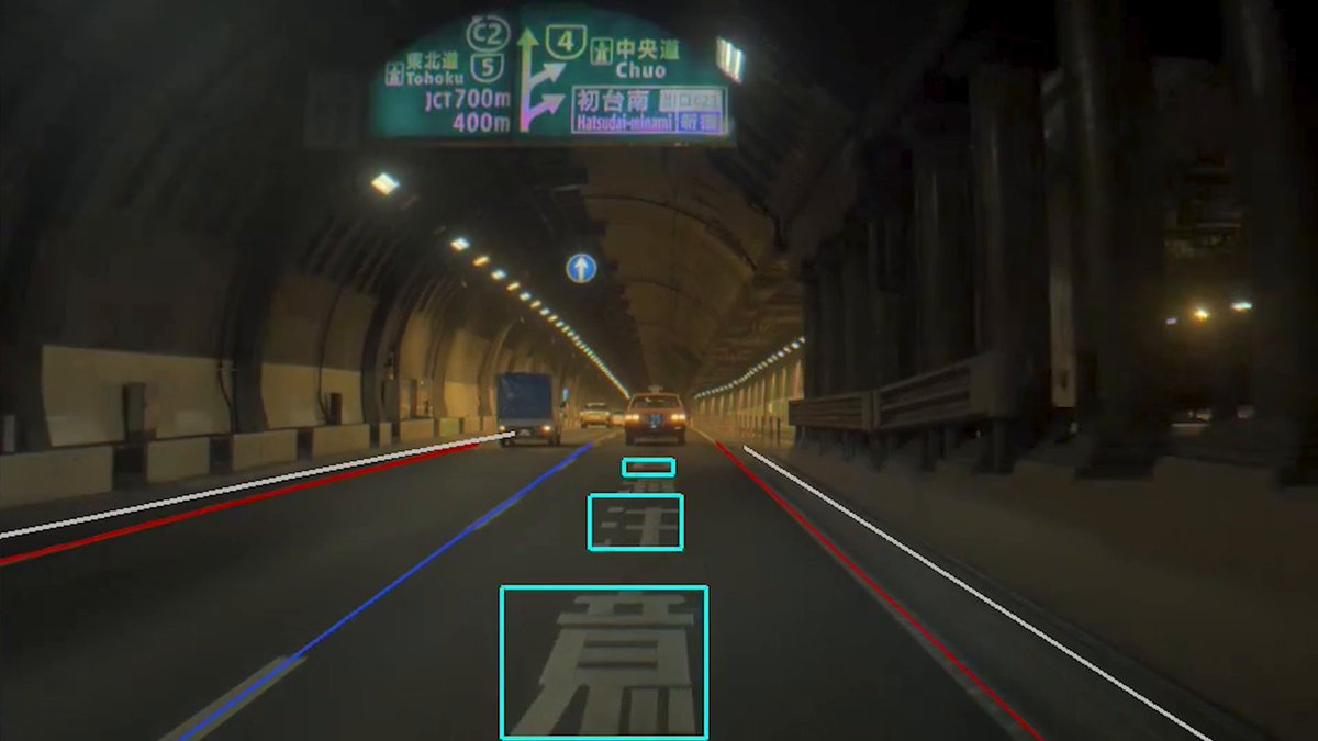 See how our MapNet DNN goes beyond lane detection to read the writing on the road: https://nvda.ws/2OQn311  #DRIVELabs