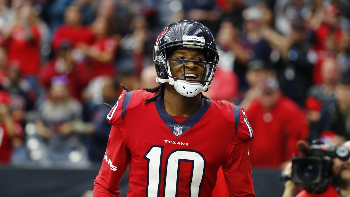 red texans jersey