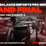 Tonizza. Rasmussen. Opmeer. Bereznay.  It's a four-way fight to crown our next #F1Esports champion! Join us from 1900 GMT for our 2019 Grand Final 🎥