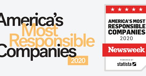 Pride in our purpose and performance. Thank you @Newsweek and @StatistaCharts #55 out of 300 on the inaugural list of America's Most Responsible Compa...