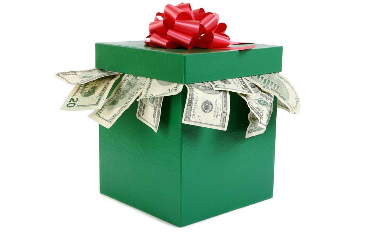 том, картинки деньги или подарок счастье