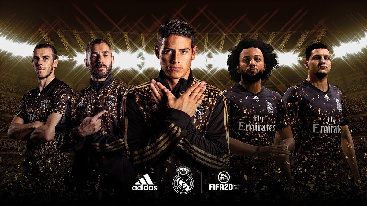 💫@realmadrid 4th kit ...Is in the game🤩💫 #FIFA20 G⚽LD