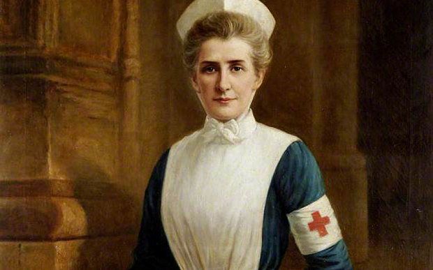 Born this day in 1865: Edith Cavell. A British nurse, she's celebrated for saving the lives of soldiers from both sides without discrimination and aided the escape of @ 200 Allied soldiers from German-occupied Belgium during WWI, for which she was arrested.